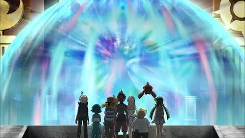 Pokémon Sol y Luna Ultra Aventuras Capitulo 9 Temporada 21 Revelación legendaria