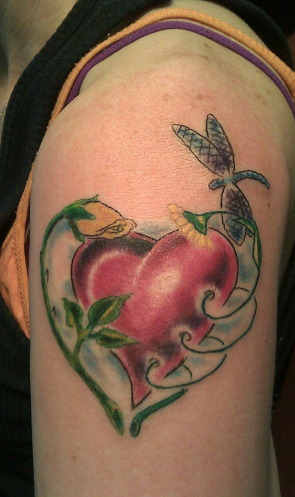 October Birth Flower Tattoos Www Picturesvery Com