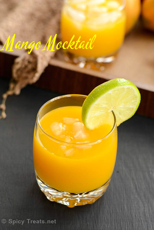 Mango Lemon Soda