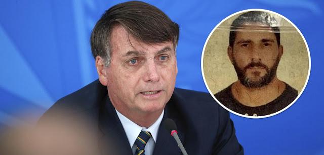 Bolsonaro revela preocupação com conteúdo dos celulares do miliciano Adriano