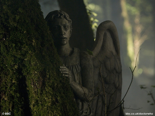 LocalFocalArts: Don't blink - Weeping Angels on board