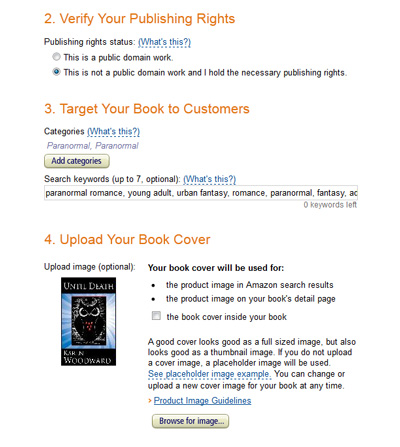 Karen Woodward: Self Publishing on Amazon: Kindle Direct