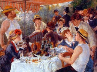 Luncheon of the Boating Party by Pierre Auguste Renoir
