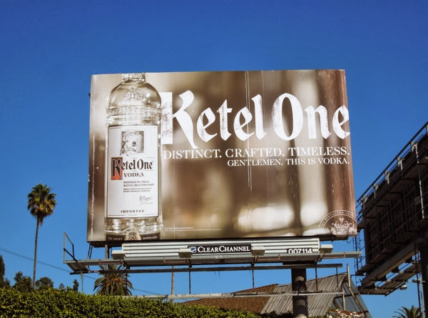 Ketel One Vodka Distinct Crafted Timeless billboard