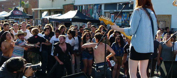 Moon Block Party 2- Growing Pains and Good Times in Pomona, CA