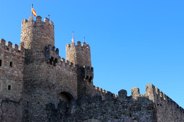 El castillo es Parador Nacional
