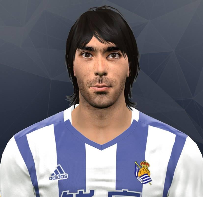PES 2017 Carlos Martínez (Real Sociedad) Face by Kruptsev