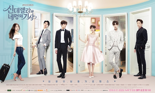 El punto final: Cinderella and the four knights.