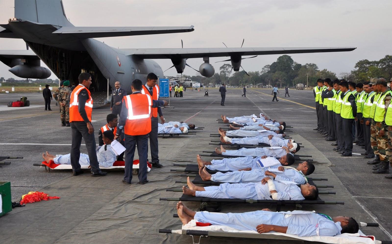 Chindits: IAF Mobilises C-130J Super Hercules For CasEvac ...