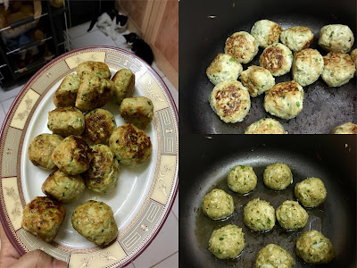 Majboos Chicken and Cabbage Meatballs