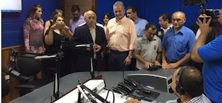 Inauguração da Rádio Progresso em juazeiro do Norte CE