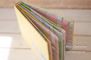 @veda_bakalova #scrapbooking #scrap #album #photo #скрапбукинг #скрапальбом #скрап #детскийальбом