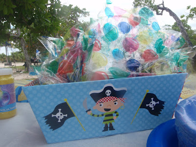 Target Pirate Party FAvor Party Goody box