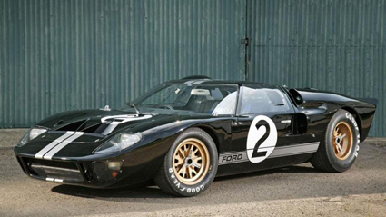 In 1966, this Ford GT40 won the 24 Hours of Le Mans.