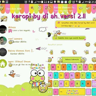 Free Download BBM MOD KEROPI V2.12.0.11 apk for android || MalingFile