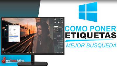 ETIQUETAR ARCHIVOS EN WINDOWS 10, como etiquetar archivos en windows, optimizar busqueda, tutorial, windows 10 trucos
