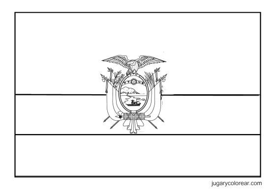 Laminas Colegiales Para Imprimir Y Recortar Bandera Y