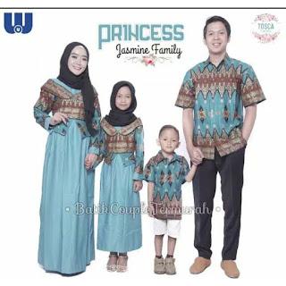 Batik Couple Sarimbit Keluarga Princess Jasmin