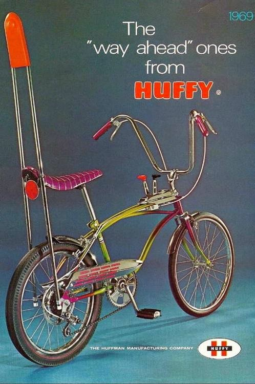 Pop Culture Safari!: Vintage Huffy bike ad!