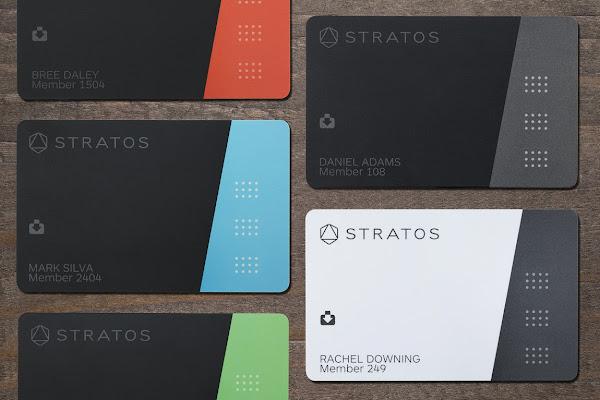 數位時代翻攝自 Stratos Card 官網