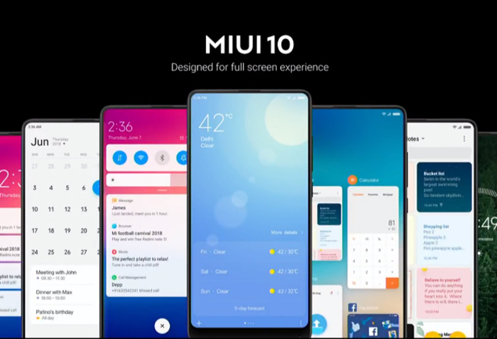 Xiaomi Reportedly Rolling out MIUI 10 Global Stable ROM on