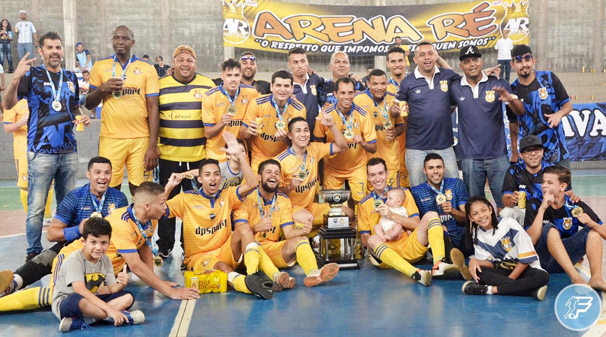 Arena Ré é campeão da Copa FutLiga Sul 2018