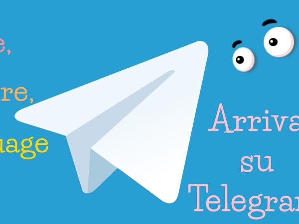 Nasce il canale Telegram ufficiale di Love, Culture, Language!