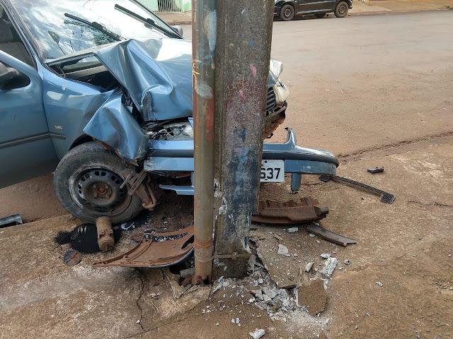 Motorista embriagado causa acidente, foge mas acaba detido em Faxinal