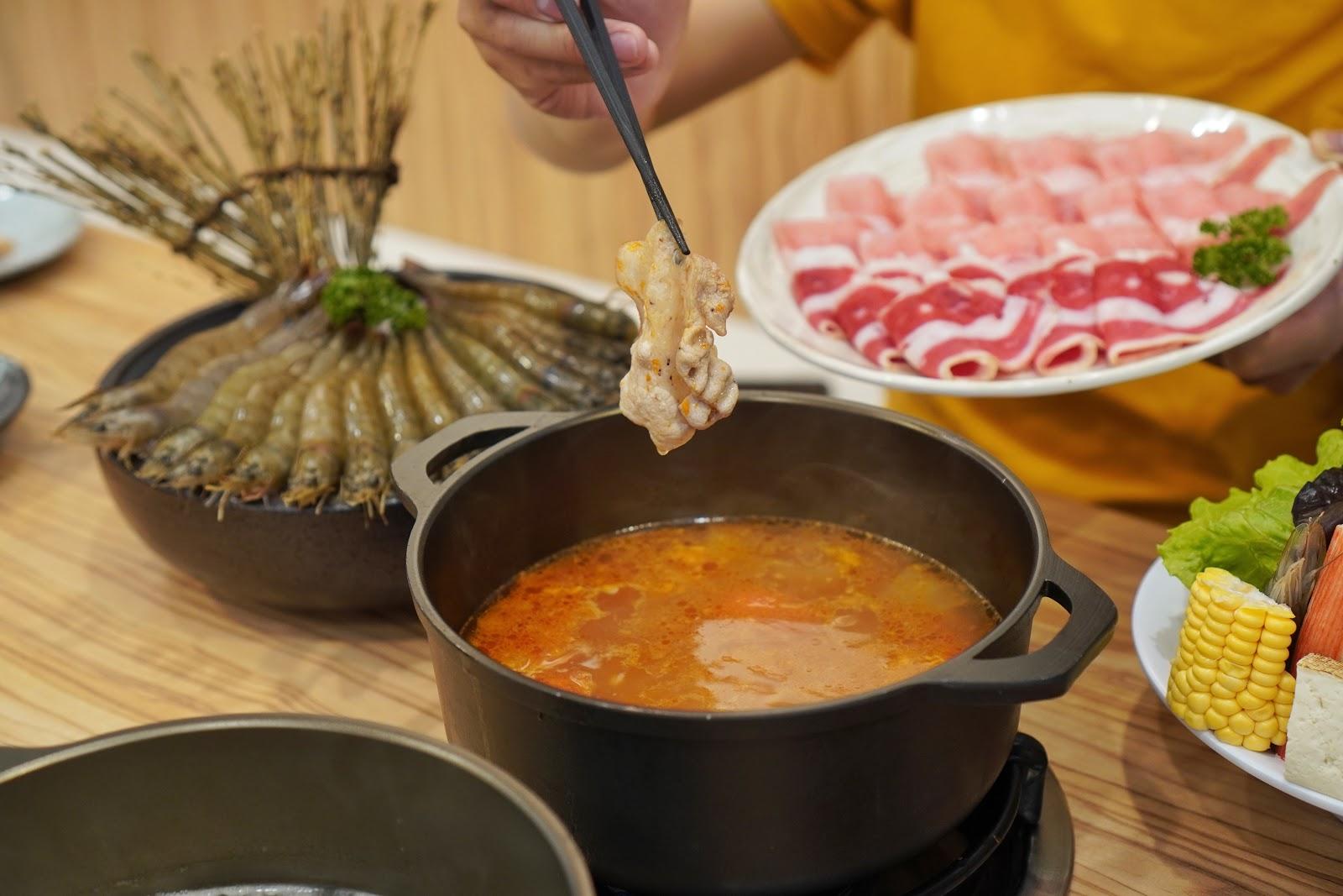 台南中西區美食【小蔡什鍋】餐點介紹 煮肉