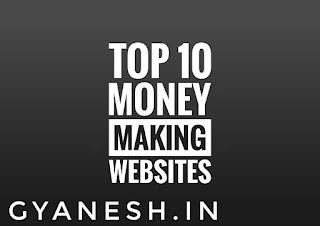 Top 10 Money Making Websites
