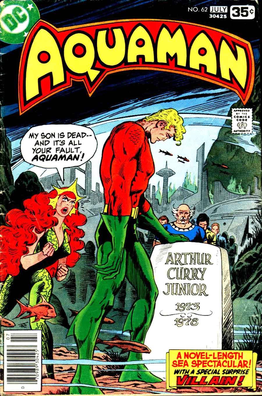 Aquaman v1 #62 dc 1970s bronze age comic book cover art