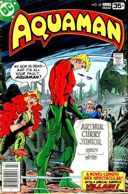 Aquaman v1 #62 dc 1970s bronze age comic book cover art