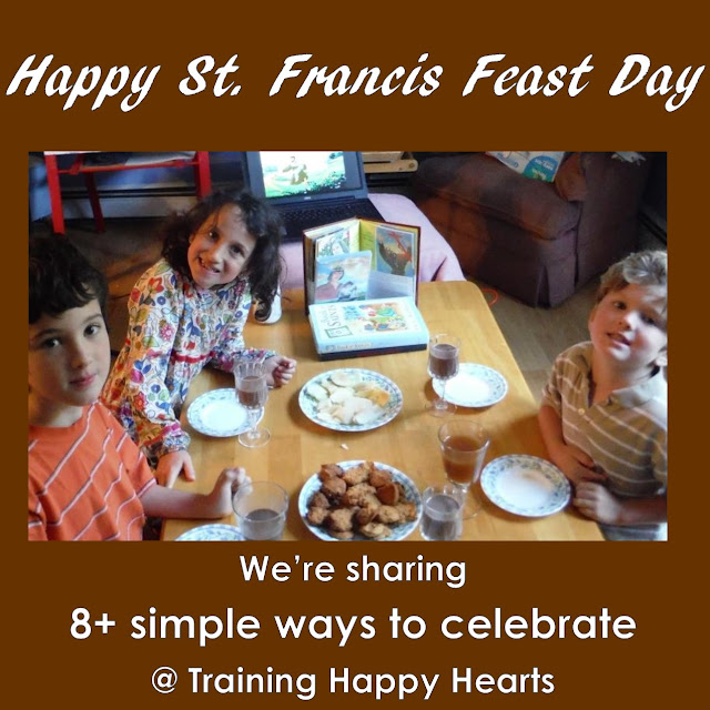 http://traininghappyhearts.blogspot.com/2015/10/8-simple-ways-to-celebrate-st-francis.html