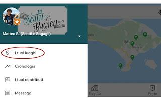 google maps i tuoi luoghi