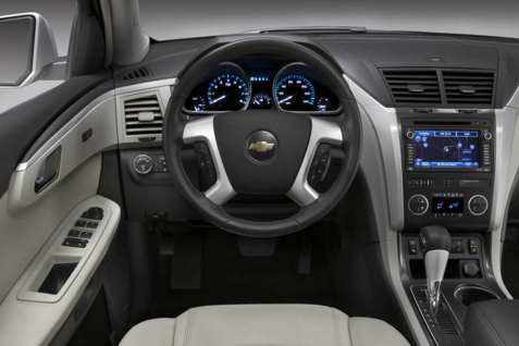 2017 Chevy Traverse Interior