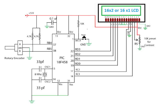 Rotary Encoder - 16f628 - All About Circuits
