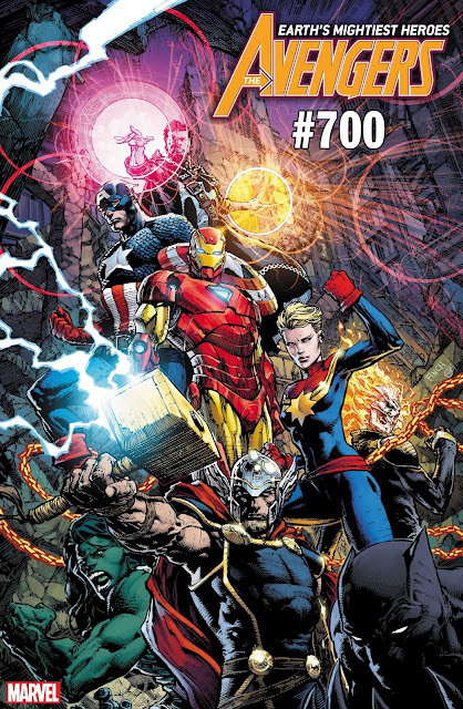 avengers, david finch, #700