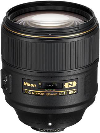 Latest & newest best portrait lens - the Nikon 105mm f/1.4E