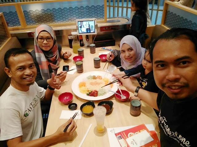 Bro Framestone, Khir Khalid, Blogger Malaysia, Sushi King,