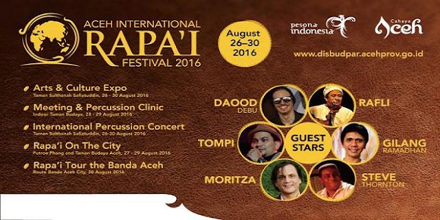 Aceh International Rapai Festival Dimulai, Yuk Saksikan