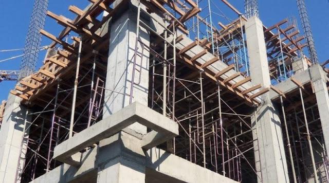 Beton, salah satu material utama yang mahal
