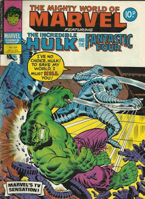 Mighty World of Marvel #329, the Hulk