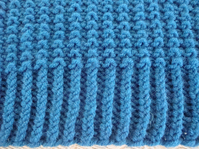 Simple Reversible Knitting Stitches : ??????????????: ?????? ????? ?? ???????/ easy reversible knitting stitch