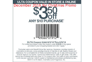 Ulta coupons december