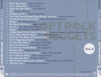 VA - Softrock Nuggets Vol.2 ~ It's A Happening World (2017)