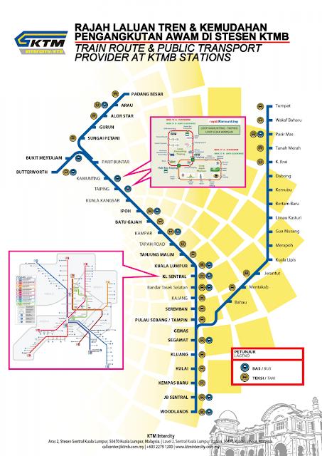 Jadual Perjalanan dan Harga Tiket Terkini ETS Padang Besar - KL Sentral - Gemas