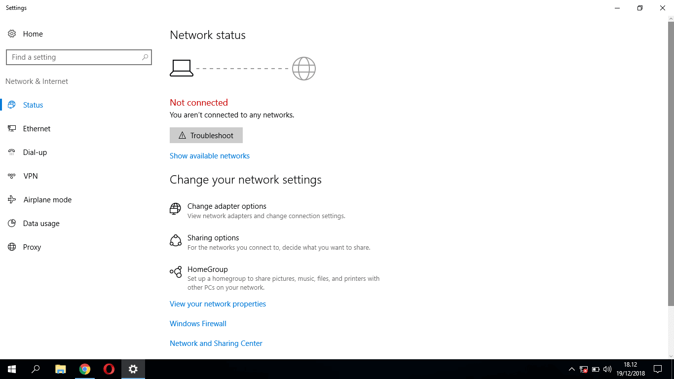 Cara Mengatasi icon WiFi Hilang di Windows 10