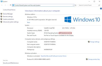 Cara Mengubah Windows 32-bit ke Windows 64-bit