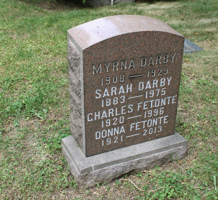A Vintage Nerd Woodlawn Cemetery Mary Pickford Burial Vintage Blog Where Old Hollywood Stars are Buried Myrna Darby Grave