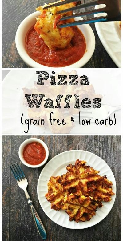 Savory Pizza Waffles